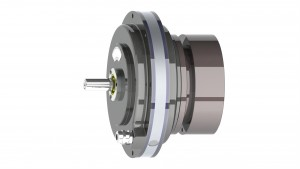 Custom Pancake Double Servodisc Motor with Brake - GPN16D