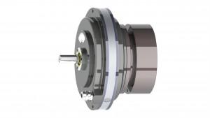 Custom Pancake Double Servodisc Motor with Brake - GPN16D