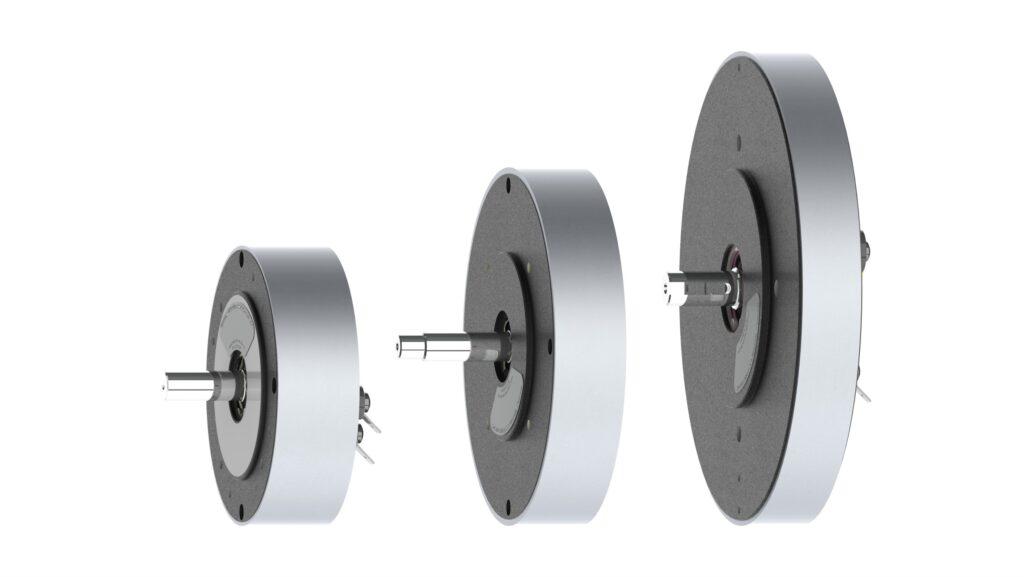 GN Range of brushed pancake motors - GN9, GN12, GN16