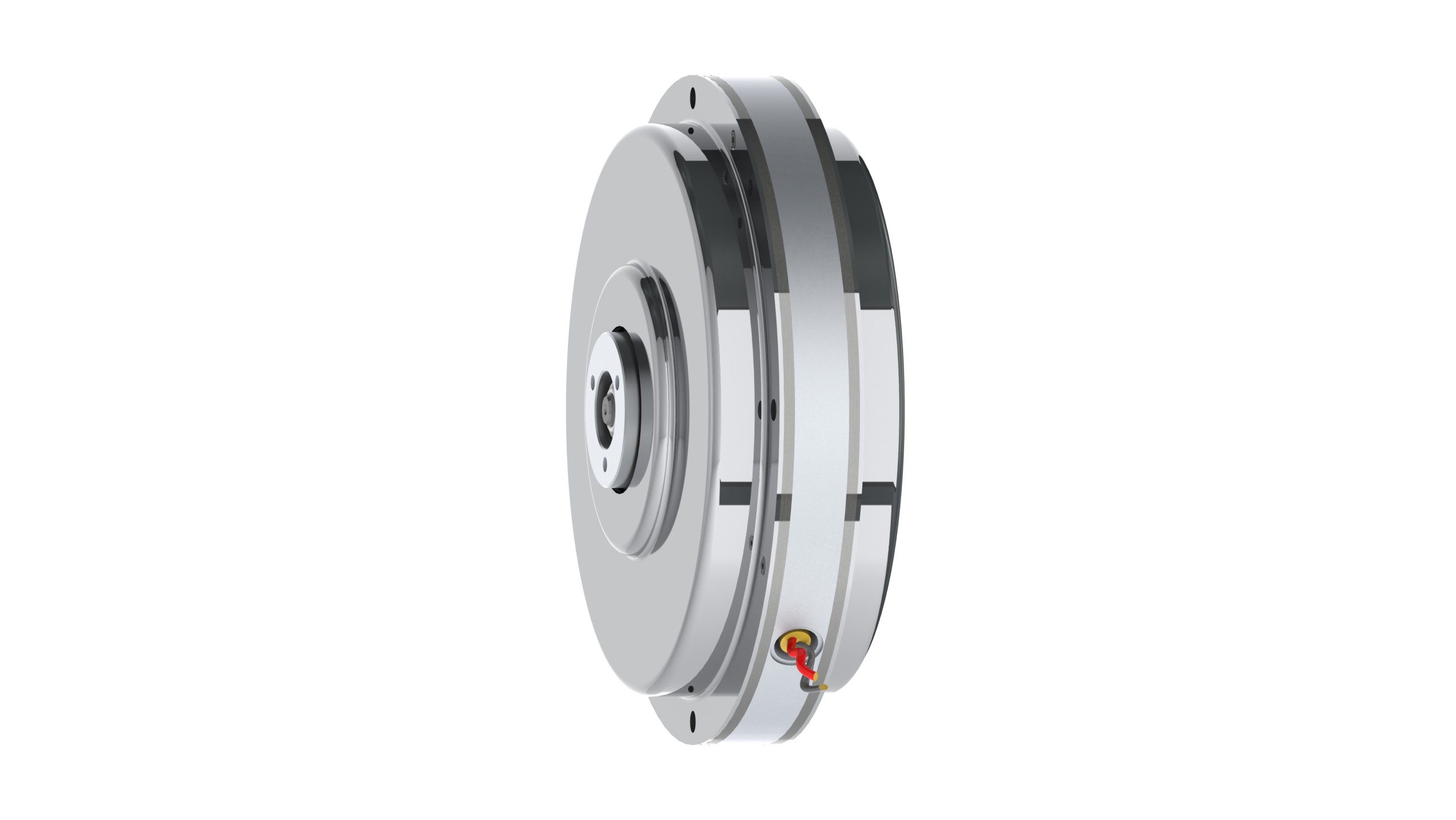 High torque pancake motor for High temperature electric motor