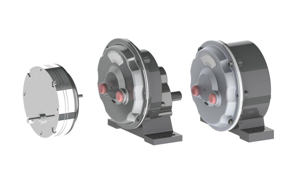Printed Motor Works GPG motor - Pancake motors with gearbox