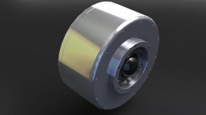 Printed Motor Works Wheel & Hub Motor