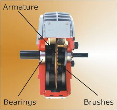 Repairing a servodisc printed armature motor